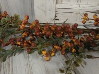 Rustic Bittersweet Berries and Foliage Floral Home Decor Garland