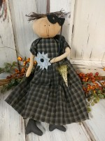 Folk Art Halloween Party Home Decor Doll
