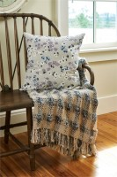 Cottage Style Lilac Acrylic Throw