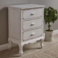 White Distressed Small Cupboard