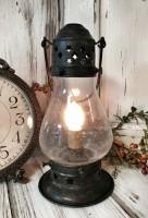 Rustic Copper Onion Lamp Electric Lantern