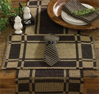 Primitive Hartwell Table Runner - Country Home Decor