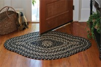Kendrick Diamond Rustic Cotton Braided Rug - 36 x 56