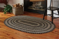 Kendrick Oval Cotton Braided Rug - 48 x 72