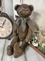 Primitive Country 1829 Fabric Home Decor Teddy Bear