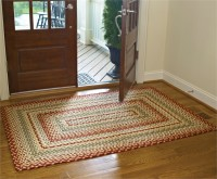 Mill Village Country Braided Area Rug - 48 x 72""