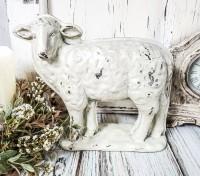 Vintage Farmhouse Sheep Resin Mold Head Turned