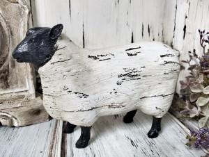 Rustic Ol' Sheep Home Decor Figure