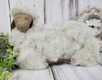 Rustic Farmhouse Wooly Sheep