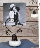 Vintage Inspired Door Knob Photo Holder