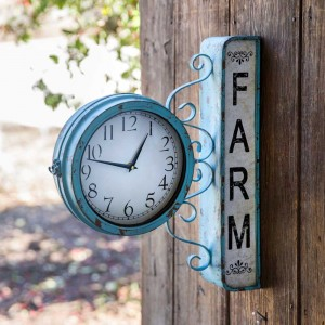 Farm Station Decorative Wall Clock