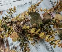 Autumn Eucalyptus &  Pinecone Long Fall Garland