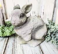 Terracotta Bunny Figure
