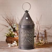 "Tall 27"" Blacksmiths Electric Lantern Accent Light"