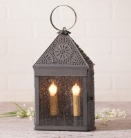 Harbor Lantern Punched Tin Accent Light