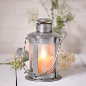 Industrial Pipe Lantern Farmhouse Industrial Pillar Candle Holder