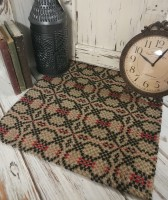 Patriot Knot Primitive Woven Table Runner