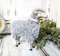 Small Vintage Inspired German Sheep Figurine
