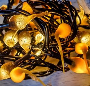 Golden Harvest Hand Dipped Autumn Light Strand