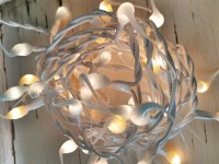 Vintage Spring Mix Cottage Style Hand Dipped Light Strand